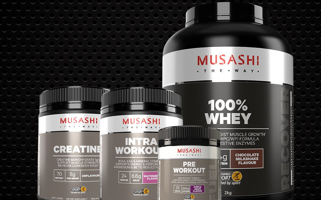 musashi gym supplements