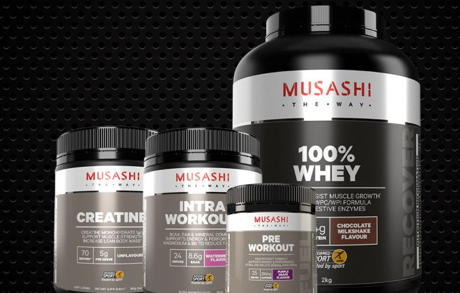 musashi gym supplements